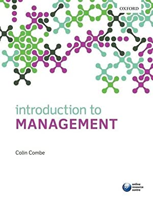 Introduction to Management: Colin Combe