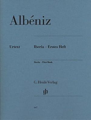 Iberia - Erstes Heft: Isaac Albéniz