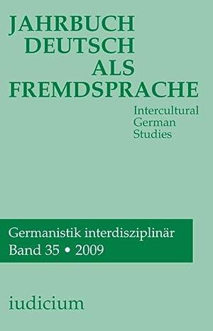 Jahrbuch Deutsch als Fremsprache : Intercultural German Studies: Andrea Bogner