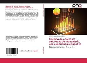 Sistema de costos de empresas de mensajería,: Milton Orlando Burbano