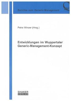 Entwicklungen im Wuppertaler Generic-Management-Konzept: Petra Winzer