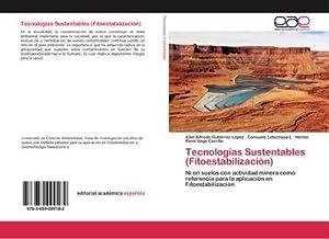 Tecnologías Sustentables (Fitoestabilización) : Ni en suelos: Abel Alfredo Gutiérrez
