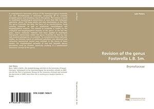 Revision of the genus Fosterella L.B. Sm.: Jule Peters