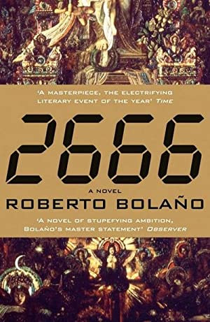 2666, English edition: Roberto Bolano
