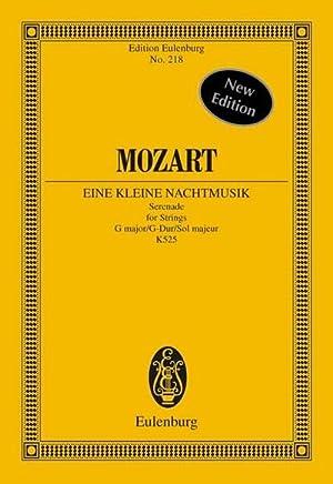 Eine kleine Nachtmusik : Serenade für Streicher: Wolfgang Amadeus Mozart