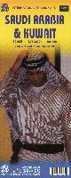 Saudi Arabia & Kuwait Travel Reference Map 1 : 1 750 000 / 1 : 390 000 : Central Riyadh, ...