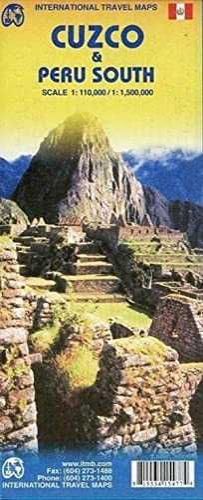 Cuzco & Peru South1 : 110 000/ 1 : 1 500 000
