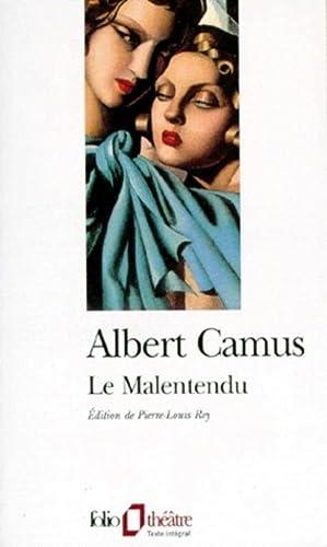 Le Malentendu: Albert Camus