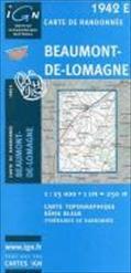 Beaumont-De-Lomagne 1 : 25 000
