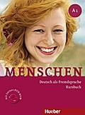 Menschen A1. Kursbuch mit DVD-ROM : Deutsch: Sandra Evans