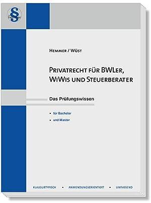 9783861934301 Privatrecht Für Bwler Wiwis Und Steuerberater