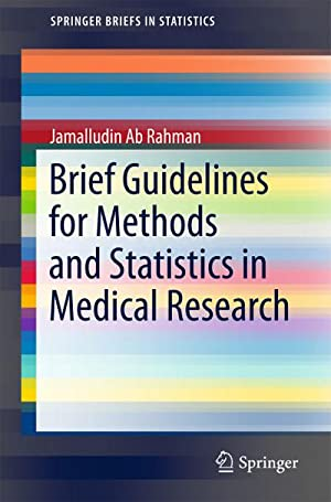 Methods and Statistics in Medical Research : Jamalludin Bin Ab