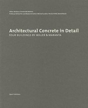 Architectural Concrete in Detail : Four Buildings: Florian Kirfel