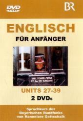 Englisch für Anfänger, DVD-Videos Units 27-30, 2 DVDs: Hannelore Gottschalk