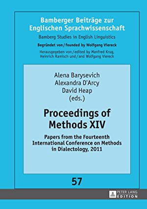 Proceedings of Methods XIV : Papers from: Alena Barysevich