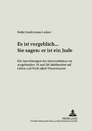 Roman von Wassermann Laudin und die Seinen JakobBuchZustand gut