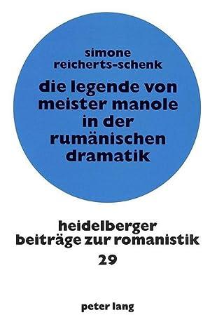 Die Legende von Meister Manole in der: Simone Reicherts-Schenk