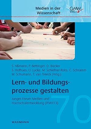 Lern- und Bildungsprozesse gestalten : Junges Forum: Sandra Aßmann