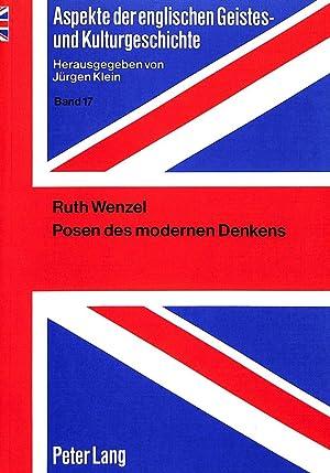 Posen des modernen Denkens : Die Yale Critics: Ruth Wenzel