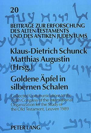 Goldene Äpfel in silbernen Schalen' : Collected: Klaus-Dietrich Schunck