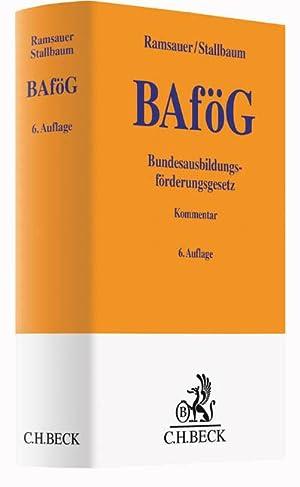 Bundesausbildungsförderungsgesetz (BAföG), Kommentar: Ulrich Ramsauer