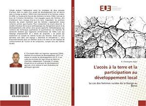 L'accès à la terre et la participation: K. Christophe Adjin