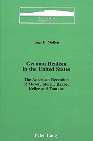 German Realism in the United States : Inga E. Mullen