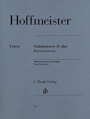 Violakonzert D-dur: Franz Anton Hoffmeister