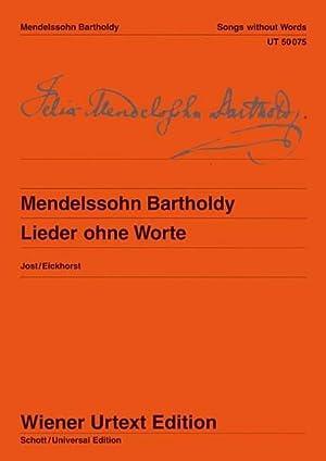 Lieder ohne Worte, für Klavier : Nach: Christa Jost