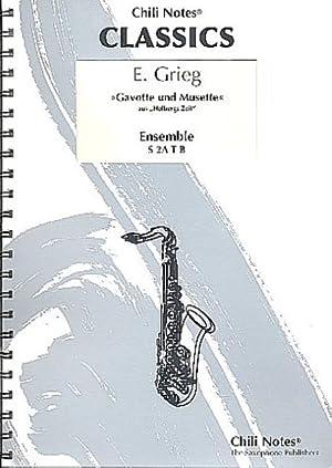 Gavotte und Musette aus op.40 :für 5: Edvard Hagerup Grieg