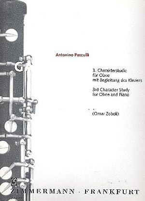 Galopade : Charakterstudie Nr.3 fürOboe mit Begleitung: Antonio Pasculli