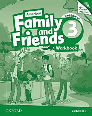 American Family and Friends 3. Workbook with: Naomi Simmons