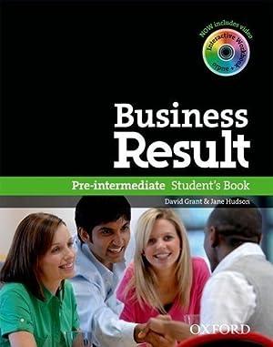 Business Result DVD Edition: Pre-intermediate: Student's Book: David Grant