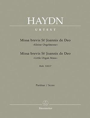 Missa brevis Sti. Johannis de Deo B-Dur: Joseph Haydn