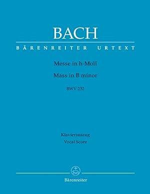 Messe h-Moll, BWV 232, Klavierauszug : Urtext: Johann S. Bach