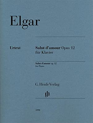 Salut d'amour op. 12 für Klavier: Edward Elgar