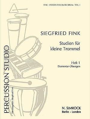 Studien für kleine Trommel Vol. 1 : Siegfried Fink