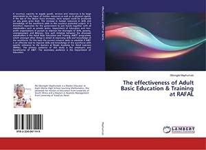 The effectiveness of Adult Basic Education &: Sibongile Maphumulo