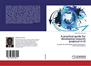 A practical guide for developing research proposal: Japhet Eke Lawrence