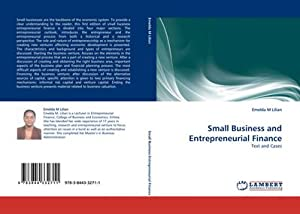 Small Business and Entrepreneurial Finance : Text: Emelda M Lilian