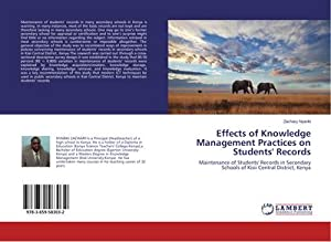 Effects of Knowledge Management Practices on Students': Zachary Nyariki