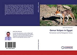 Genus Vulpes in Egypt : The Evolution: Walid Fathy Mohamed