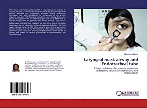 Laryngeal mask airway and Endotracheal tube : Mammie Motiang