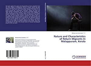 Nature and Characteristics of Return Migrants In: Muhammed Jamsheer T.