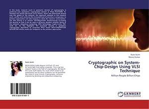 Cryptographic on System-Chip-Design Using VLSI Technique : Rashi Kohli