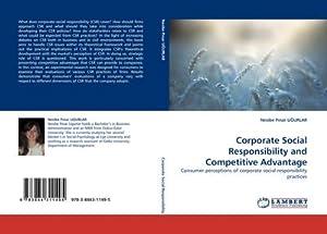 Corporate Social Responsibility and Competitive Advantage : Nesibe Pinar UGURLAR