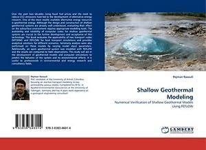 Shallow Geothermal Modeling : Numerical Verification of: Pejman Rasouli