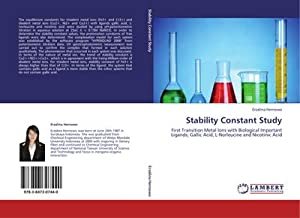 Stability Constant Study : First Transition Metal: Erzalina Hernowo