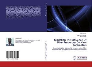 Modeling The Influence Of Fiber Properties On: Jerry Ochola
