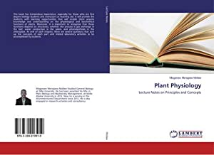 9783330013919: Plant Physiology: Lecture Notes on Principles
